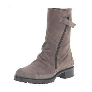 COCLICO | Tin Lug Boots - Taupe Suede